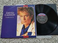 David Cassidy - Romance Vinyl LP ISRAEL