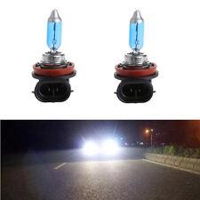 2Pcs 12V 55W H11 Lampe à bulle de brouillard de voiture blanc Halogen Auto Phare