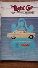 THE LIGHT CAR 1956 Caravan Topics Berkeley Sports Car Motorist Magazine