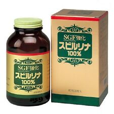 F/S From JAPAN Spirulina 100% + SGF 1500 tablets / Ship by EMS!