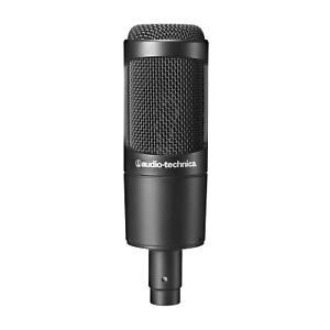 Audio Technica Microphone  AT2035 Studio Condenser - AT2035 + Pouch Shock Cradle