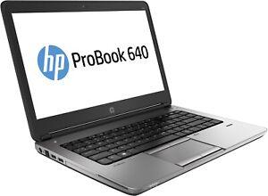 Hp Probook 640 G1 - Intel Core i7-4600M, 8GB RAM, SSD/HDD, HD Graphics +Warranty