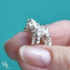 Sterling Silver Cockapoo Dog Jewellery Charm