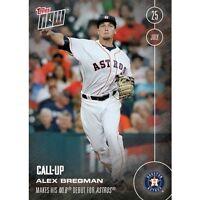 2016 Topps Now #287 Alex Bregman Houston Astros  FREE Shipping Print Run: 2310