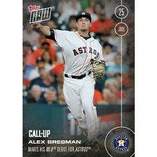 2016 Topps Now #287 Alex Bregman Houston Astros  FREE Shipping Print Run: 2310