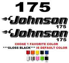 (#625) JOHNSON 175 OUTBOAT STICKERS DECALS