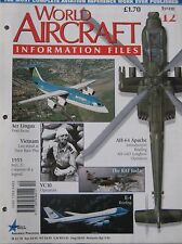 World Aircraft Information Files No 12 McDonnell Douglas Apache cutaway & poster