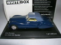 Whitebox Alfa Romeo 6C 2500 SS Spider blau blue, 1:43 Lim. 1000 Stück WB219