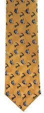 Tango Cape Cod Sailboat Men's Silk Necktie Sailing Neck Tie Boat Sailor Gift New