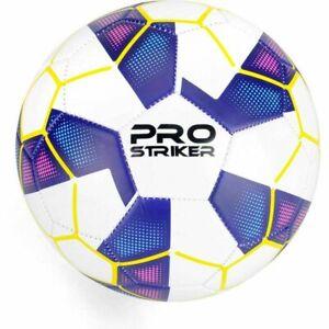 Size 5 Pro Striker Football White/Blue