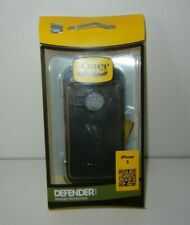 OTTERBOX Defender Series BLACK iPHONE 5 CASE Heavy Rugged Protection NEW! IN BOX