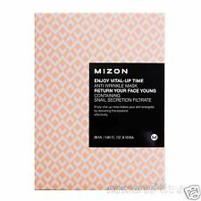 [MIZON] Enjoy Vital-Up Time Anti-wrinkle Mask 30ml x 10 EA  Snail Mask