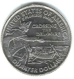 2021-D Denver Brilliant Uncirculated Washington Crossing The Delaware 25C Coin!