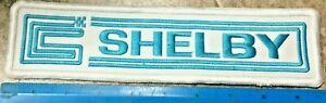 Original 1967 NOS Early Carroll CS Shelby Team jacket  Patch SAAC Mustang Cobra