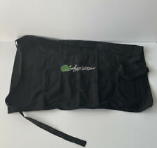 Black Apron With Appletiser On Front 40cm Tall 3 Pockets To The Front
