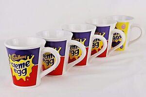 5 cadburys cream eggs mugs