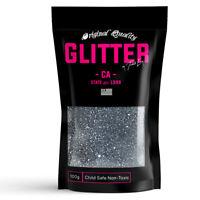 Gunmetal Premium Glitter Multi Purpose Dust Powder 100g / 3.5oz Cosmetic Face