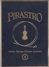 Vieux Publicité Papp Présentoir Pirastro Cordes Strings Cordes Cuerdas Violon
