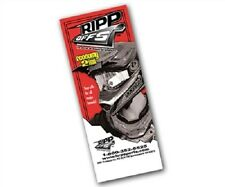 RippOffs brand tearoffs tear offs fits Dragon MX goggles 2mil 20/pk