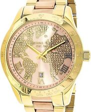Michael Kors Layton Rose Gold Two tone Dial Watch NWT MK6476 $275
