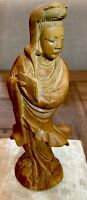 Antique Asian buddha hand Carved wooden Statue Art Figurine 6 Inch or 15cm