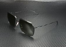Dolce & Gabbana DG2165 110671 BLACK MATTE BLK GREY GREEN 58 mm Men's Sunglasses