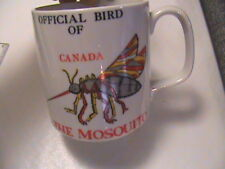 Mosquito Mug Official Bird Of Canada / Le Moustique: Oiseau Officiel Tasse Café