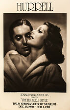 "George Hurrell (American 1904-1992) Exhibition Poster ""The Hurell Style"""