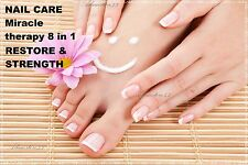 100% PROTECTION NAIL CARE  Miracle therapy 8 in 1 RESTORE & STRENGTH HARDENER