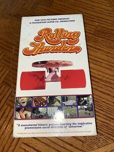 Rolling Thunder 1990s Skateboarding Film On VHS Cassette