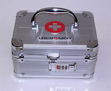 LOCKMED Small Medication Lock Box w/ Combination Lock Free U.S Shipping
