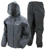 Frogg Toggs Ultra-lite2 Waterproof Breathable Rain Carbon Black LG