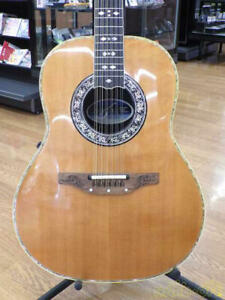 OVATION 1759 12 String Acoustic Electric Guitar W/hard case