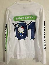 f0ce7f9ae7c6 FILA X Sanrio Hello Kitty Racing White Long Sleeve T-Shirt Men Sz Medium NEW