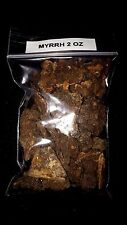 2oz MYRRH Pure Natural Granular Resin Incense Chunks Premium Quality