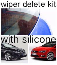 Wiper Delete KIT + Silicone Dewiper Blank Acrylic Seat Leon Mk1 Mk2 Mk3 1M 1P 5F