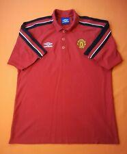 Manchester United jersey training polo shirt soccer football Umbro ig93