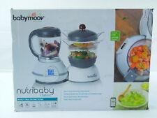 Babymoov Nutribaby Cherry Babynahrungszubereiter Dampfgaren Mixer Sterilisieren