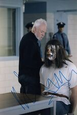 MALCOLM McDOWELL signed Autogramm 20x30cm HALLOWEEN In Person autograph COA