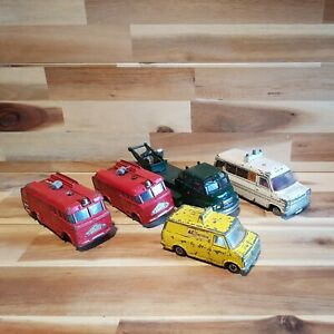 Dinky toys . vintage toy cars, spares or repair. Rescue veichels.