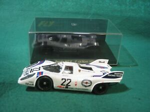 FLY CAR  C51 PORSCHE 917 K LE MANS 71 MARTINI WHITE #22 USED EXTRA MAGNET BOXED