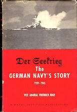 Friedrich Ruge / Der Geefrieg The German Navy's Story 1939-1945 1960