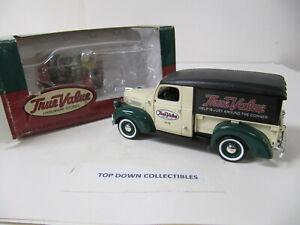 True Value 1947 Dodge Canopy Delivery  Van 1925 Die Cast   ERTL Bank