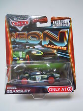 Disney pixar cars NIGEL GEARSLEY with metallic deco NEON mattel 1:55 maclama