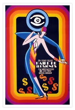 Cuban decor Graphic Design movie Poster for Cuba film.Dance.DECO art.Pollack