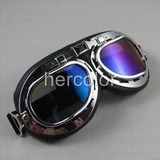 Glasses Sunglasses WW II Style Motocycle Drivin Goggles