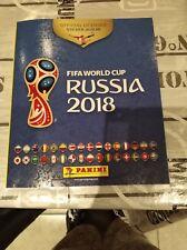 """ALBUM PANINI """"FIFA WORLD CUP RUSSIA 2018"""" BELGIUM VERSION JAUNE  + 6 STICKERS"""