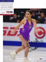 Gabrielle Gabby Daleman 2018 Olympics Signed Autograph 8x10 Photo PSA/DNA COA F