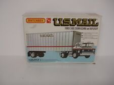 AMT Vintage Truck Model Ford C-900 Tilt Cab US Mail New in Box 1/25 scale