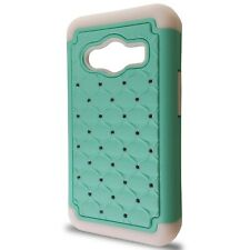 CoverON® for Samsung Galaxy Ace NXT Case - Hybrid Diamond Hard Teal Phone Cover